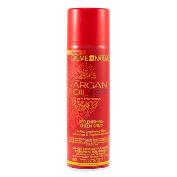 Cream Of Nature Argan Oil Sheen Spray 11.25oz