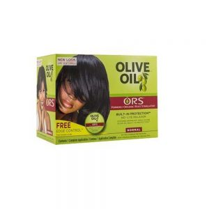 Organic Root Stimulator Olive Oil No Lye Relaxer Kit