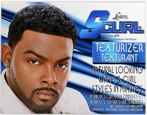 lusters mens s curl texturizer kit