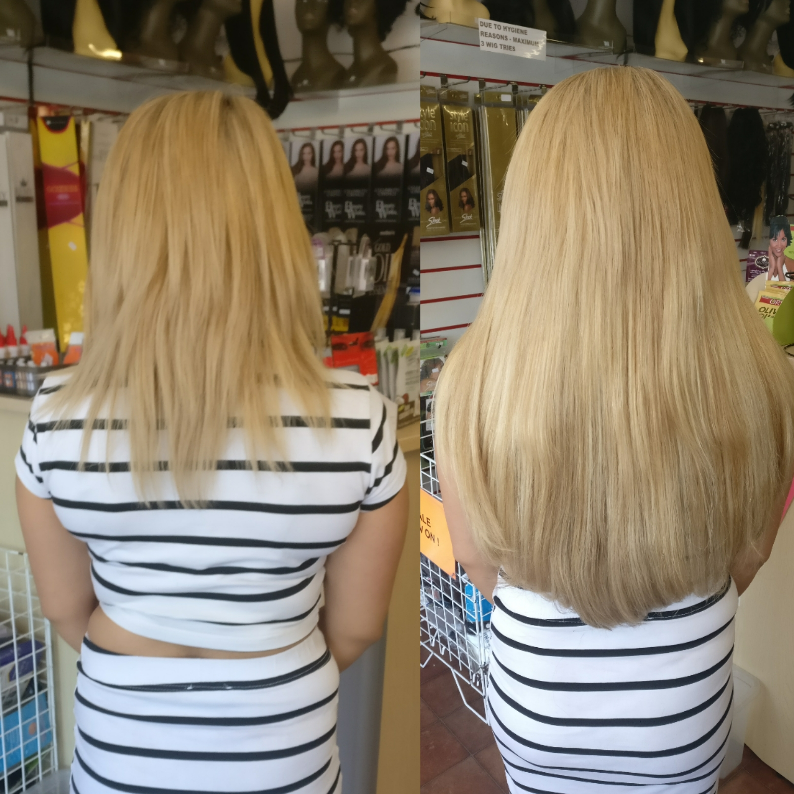 Gallery Before After La Weaves Hair Weaves